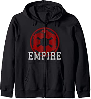Star Wars Empire Red Logo Stamp Sweat à Capuche