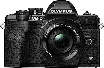 Olympus OM-D E-M10 Mark IV Black Body with Black M.Zuiko Digital ED 14-42mm F3.5-5.6 EZ Lens Kit