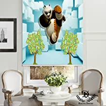 "Kayra Decor Soft Blackout PVC Customized Window Roller Blind Curtains (72"" Height x 24"" Width)"
