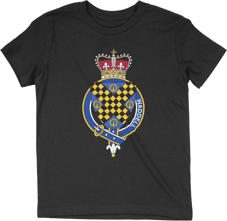 HARD EDGE DESIGN Girl's Youth Scottish Garter Family Waddell T-Shirt