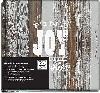 me & my BIG ideas American Sweetheart Find Joy Album, 12-Inch by 12-Inch