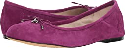 Purple Plum Suede Leather