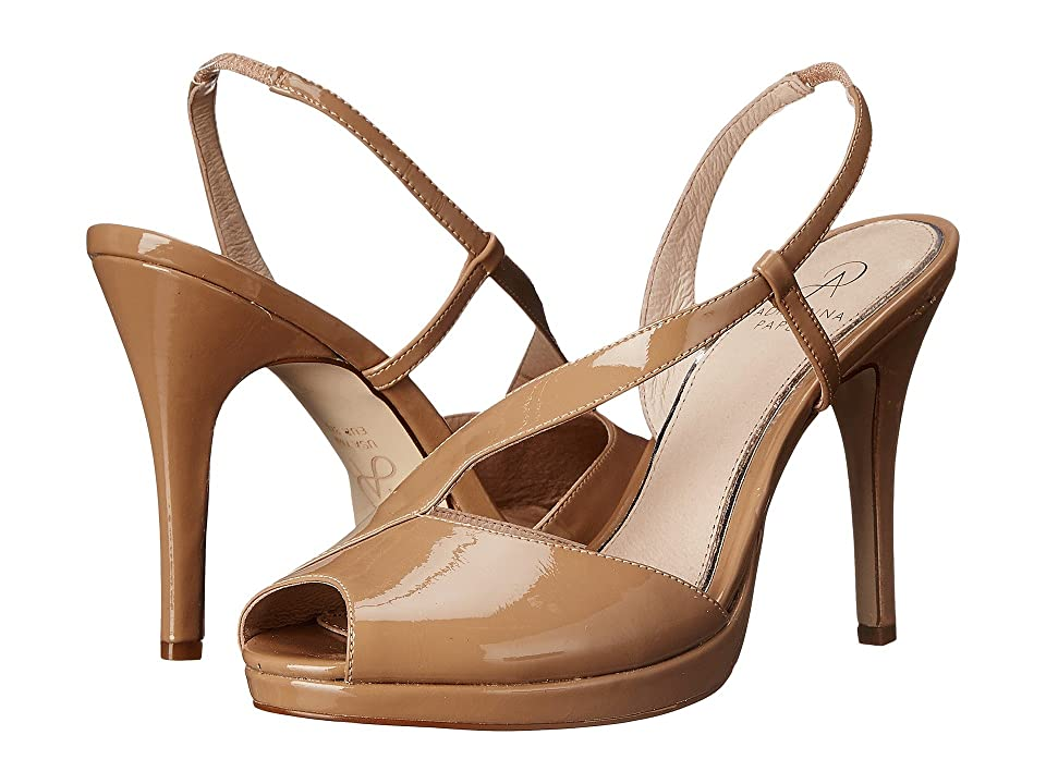 Adrianna Papell Gemini (Nude Patent Leather) High Heels