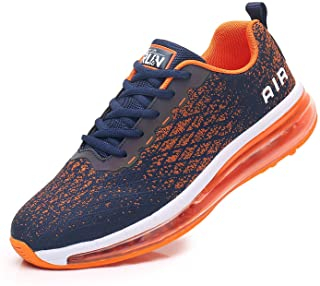 Azooken Mens Sports Footwear Tennis Breathable Jogging Lightweight Shoes