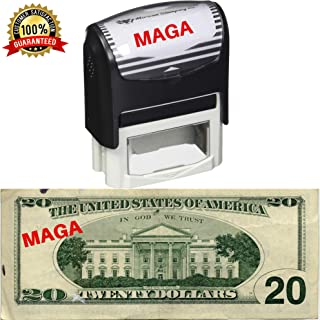 MAGA Stamp by 'Merican Stamping Co.| Make America Great Again Donald Trump Lives Here Stamp MAGA 2020 Trump 2020