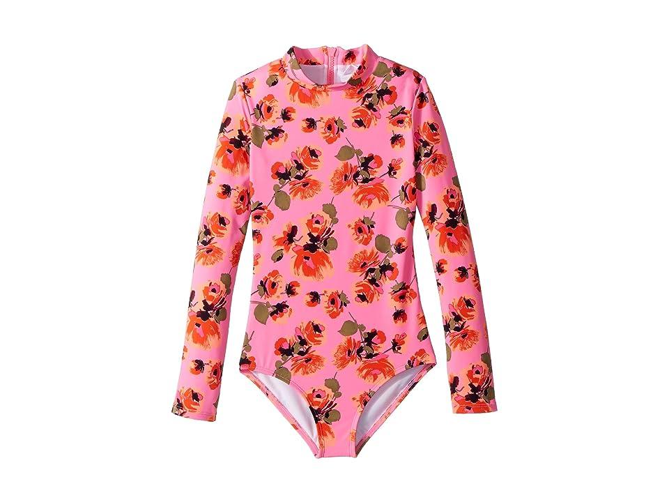 Billabong Kids Bella Beach Bodysuit (Little Kids/Big Kids) (Tahiti Pink) Girl