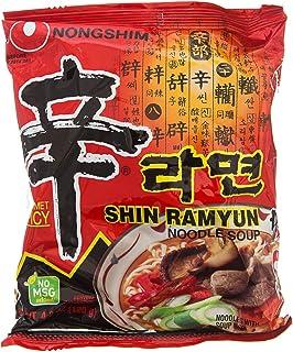 Fideos Instantáneos Nong Shim Shin Ramyun, Sabor Picante, (10 x 120 g)