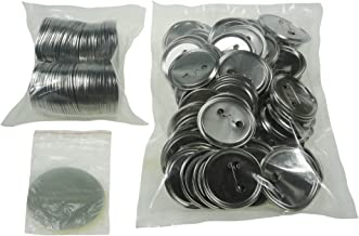 Sunshine 58mm Blank Badges & Buttons Parts for Badge & Button Making Machine (Holland-Pin Metal-Back 100sets)