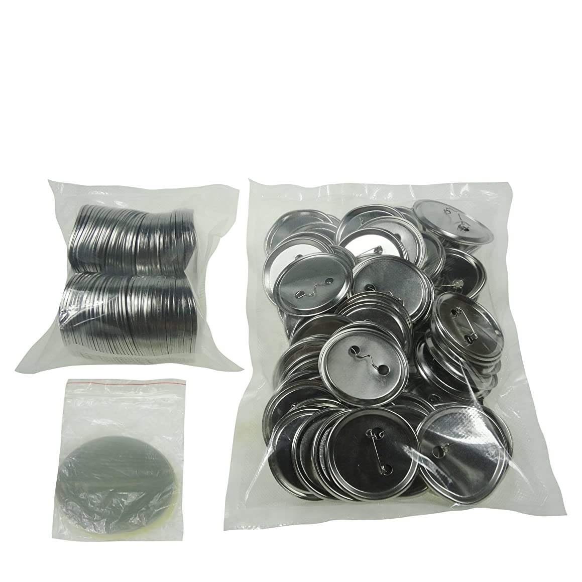 Sunshine 58mm Blank Badges & Buttons Parts for Badge & Button Making Machine (Holland-Pin Metal-Back 100sets) y93335905591