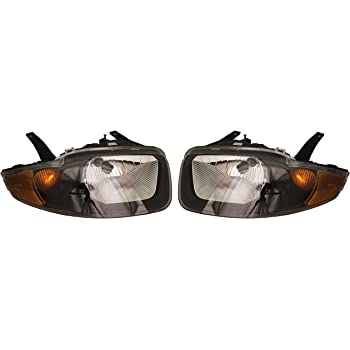 Amazon Com Chevy Cavalier Replacement Headlight Assembly 1 Pair Automotive