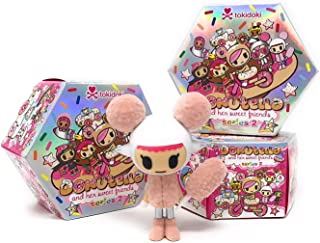 Tokidoki Donutella and Her Sweet Friends Series 2 Collectible Figure (Pack of 3)