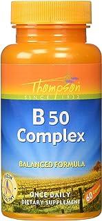 Thompson B-50 Complex, 50 Mg, 60 Capsules