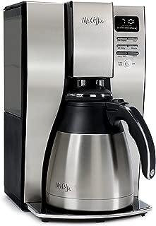 Mr. Coffee BVMC-PSTX95 10-Cup Optimal Brew Thermal Coffee Maker, Stainless Steel (Renewed)