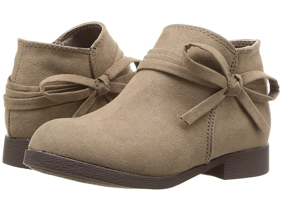 Nine West Kids Cyndees (Toddler/Little Kid) (Taupe Microfiber) Girls Shoes