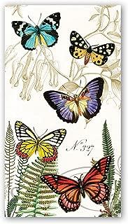 Michel Design Works 15 Count Hostess Napkins, Papillon