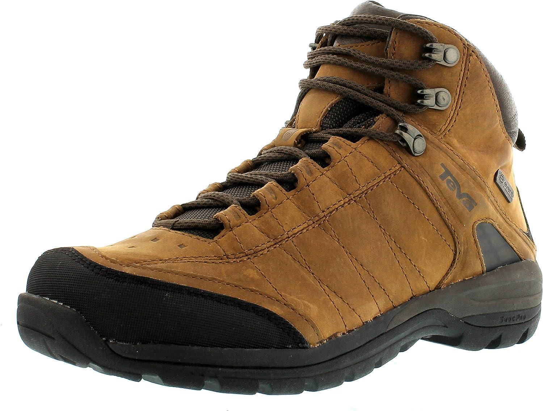 Teva Kimtah Half Boots Ladies Mid, Event, Leather Brown