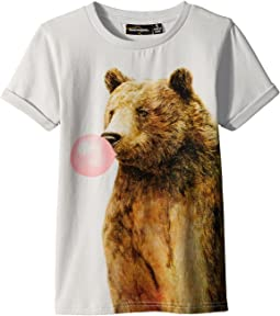 Rock Your Baby - Bubble Gum Bear Short Sleeve Tee (Toddler/Little Kids/Big Kids)