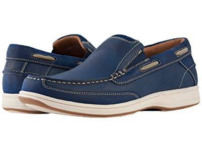 Florsheim Lakeside Slip (Indigo Smooth/Suede) Men