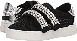 Jewel Strap Mesh Sneakers