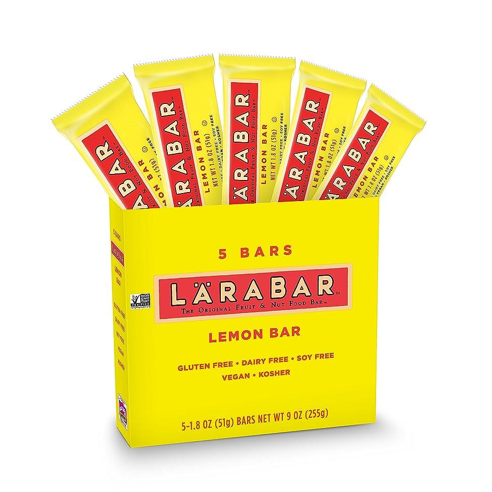LARABAR, Fruit & Nut Bar, Lemon, Gluten Free, Vegan, Whole 30 Compliant, 5 Count, Pack of 8