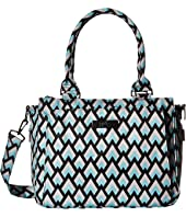Onyx Collection Be Classy Structured Handbag Diaper Bag