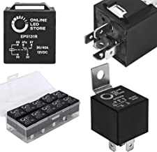 Best 10 Pack Bosch Style 5-Pin 12V Relay Switch [SPDT] [30/40 Amp] 12 Volt Automotive Relays for Auto Fan Cars Review