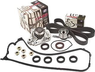 Evergreen TBK224VC Fits 92-95 Honda Civic Del Sol D16Z6 Timing Belt Kit Valve Cover Gasket GMB Water Pump