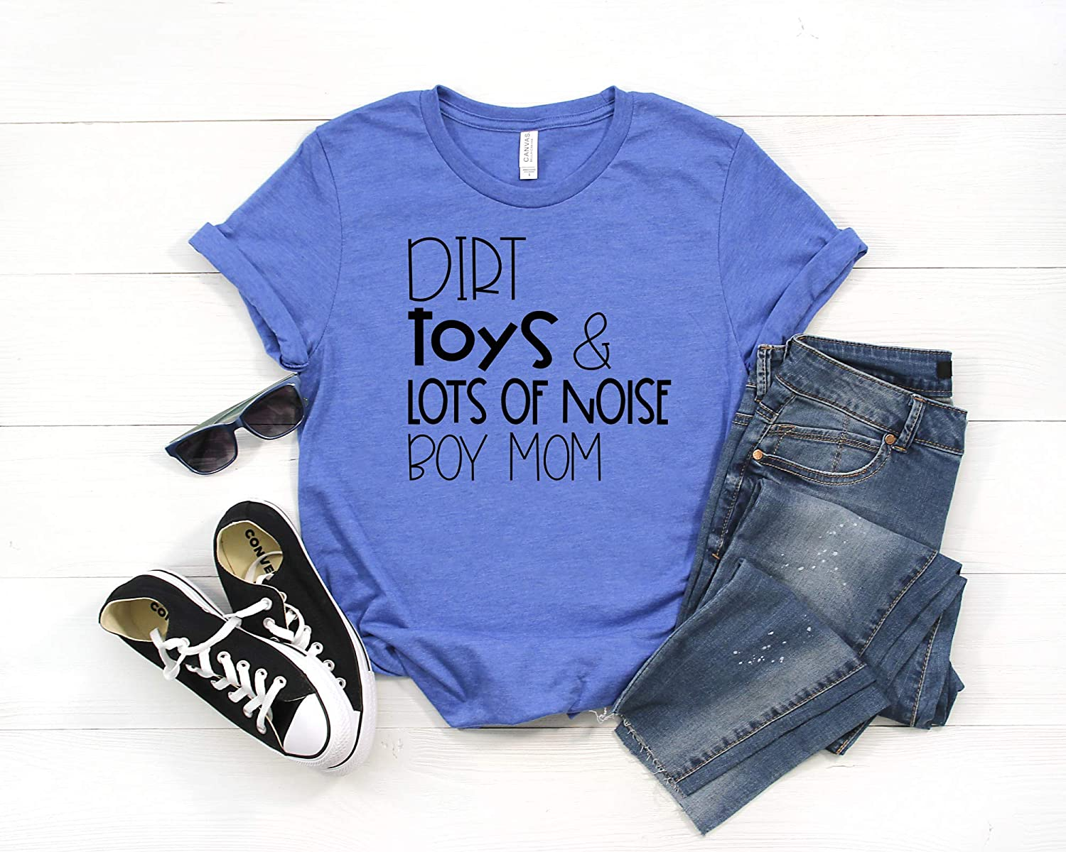 Dirt Toys Lots of Noise Boy Shirt Womans Regular store mama discount Mom Womens