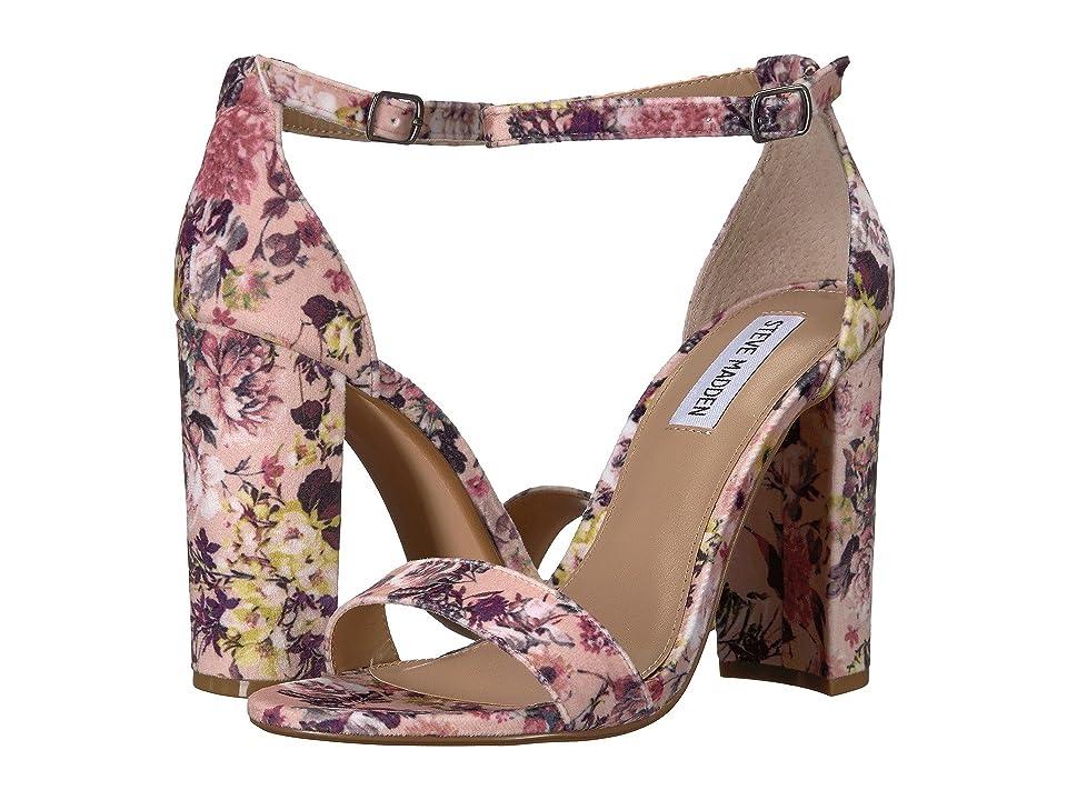 Steve Madden Carrson Heeled Sandal (Floral-V) High Heels