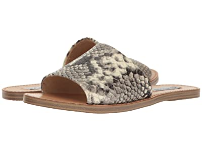 Steve Madden Grace Slide Sandal (Natural Snake) Women
