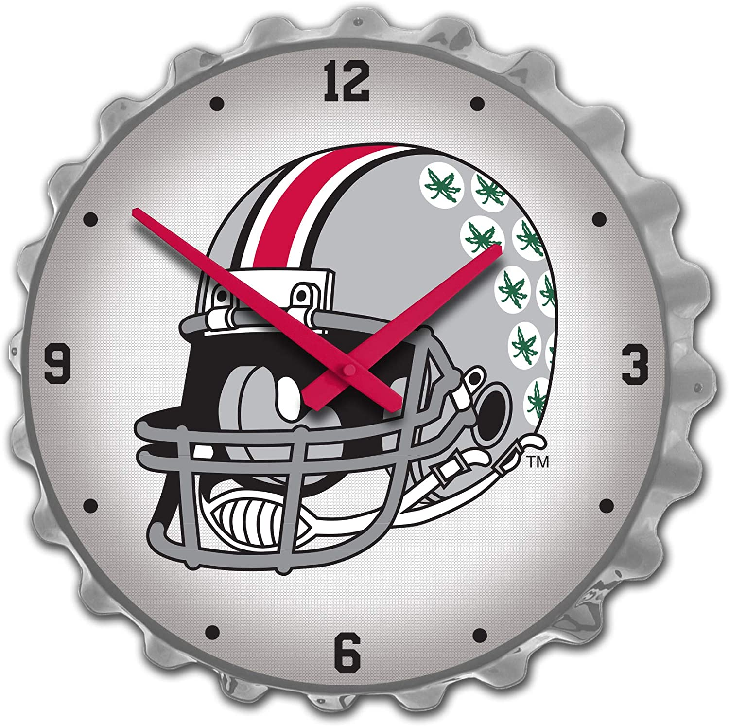 Shop Grimm OSU All Ranking TOP18 items in the store Ohio State Buckeyes Wall Large Clock - Cap Bottle