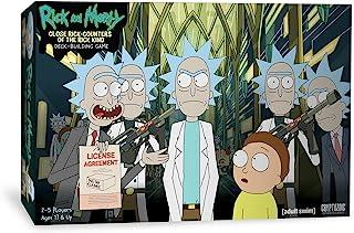 Cryptozoic Entertainment Rick and Morty Deckbuilding Game, Multicolour