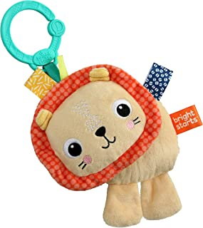 Bright Starts Friends for Me On-The-Go Take-Along Toy - Lion, Newborn +