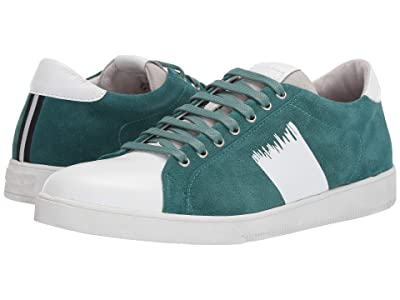 Blackstone Low Sneaker RM33 (Jasper Green/White) Men
