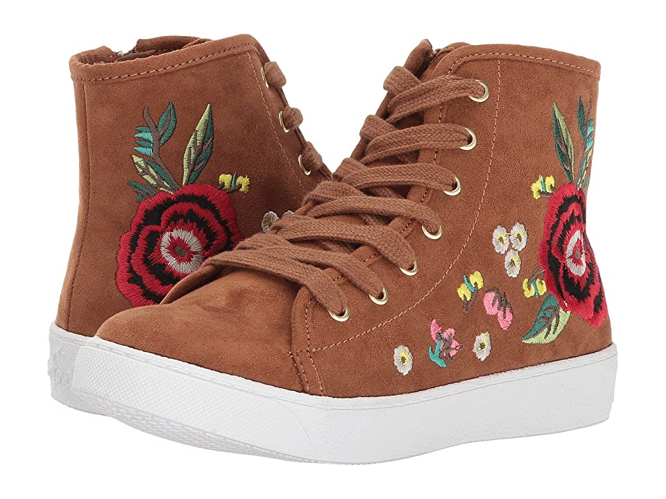 e1aa8147b9e8b9 Sam Edelman Kids Harriet Sneaker (Little Kid Big Kid) (Saddle) Girl s Shoes