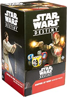 Fantasy Flight Games Current Edition Star Wars Destiny Empire at War Booster Display Board Game