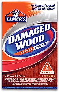 Elmer's E761Q E761L Wood Repair System, 6 oz, White