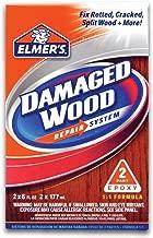 Elmer's E761L E761Q Wood Repair System, 6 oz, White