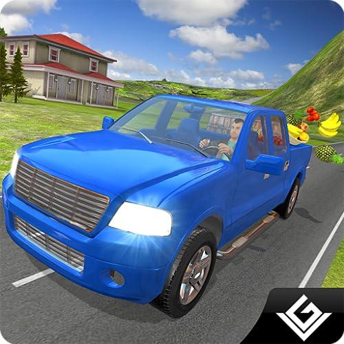 Extreme Drive Hill Bauernhof LKW Parkplatz Simulator Spiel: Cargo Transporter Fahrer In Adventure Free Simulation Spiel