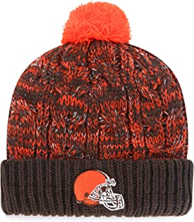 NFL Women's OTS Brilyn Cuff Knit Cap with Pom