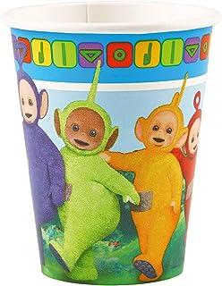 Teletubbies Party Range - 8 Paper Cups (9oz)