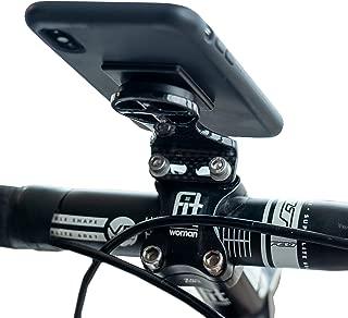 Carbon Fiber Cell Phone GPS Bike Mount | Handlebar Stem Cycle Computer Holder |