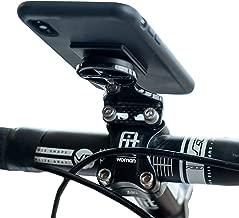 Carbon Fiber Cell Phone GPS Bike Mount   Handlebar Stem Cycle Computer Holder  