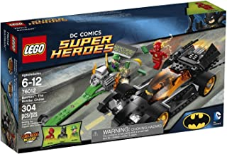 LEGO Batman: The Riddler Chase Building Set with 3 Minifigures, Big Engine, Money Bags & More