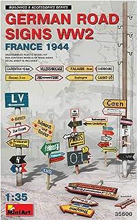MiniArt MIN35600 35600 German Road Signs WW2 (France 1944) Accessoire de modélisme Gris