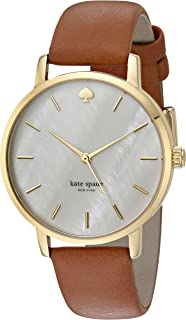 Kate Spade New York Annadale Quilted Leather Wrist Watch