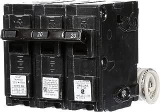 Siemens Q22000S01 120/240-Volt type MP-T 20-Amp Circuit Breaker with 120-Volt Shunt Trip Double pole