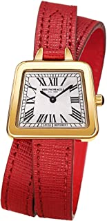Bruno Magli Women's Emma Swiss Quartz Italian Leather Double Wrap Strap Watch