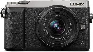 PANASONIC LUMIX GX85 4K Mirrorless Camera, with 12-32mm MEGA O.I.S. Lens, 16 Megapixels, Dual I.S. 1.0, 3 Inch Tilting Touch LCD, DMC-GX85KS (USA SILVER DISCONTINUED)
