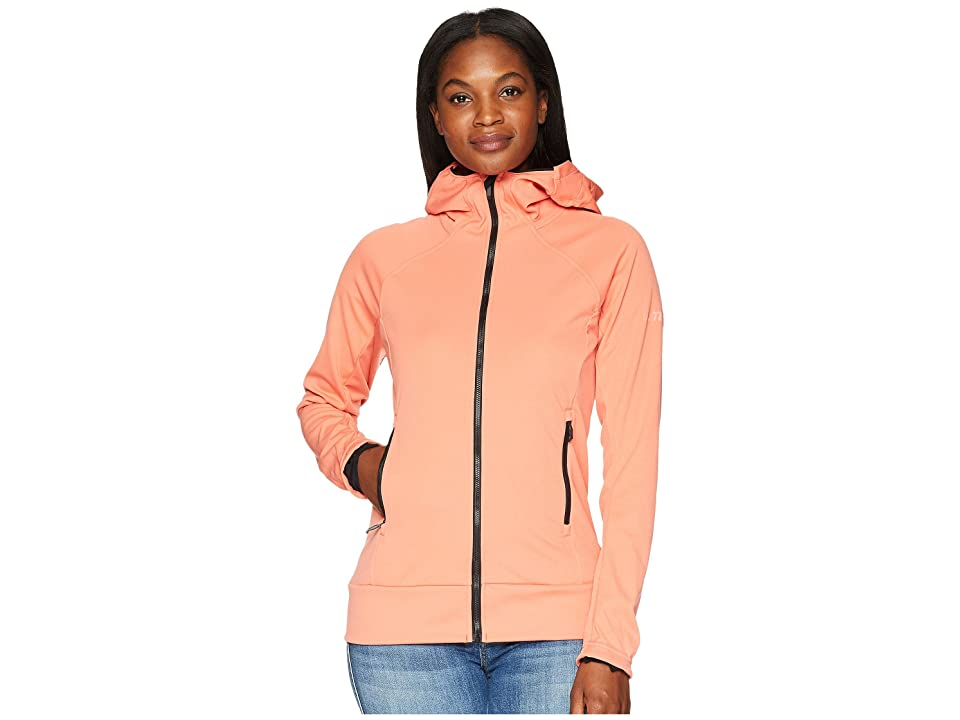 24256dfcecf9 adidas Outdoor Stretch Softshell Jacket (Trace Scarlet) Women s Coat